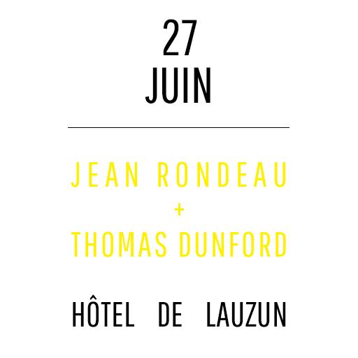 Jean Rondeau + Thomas Dunford