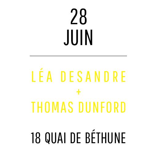 Léa Desandre + Thomas Dunford